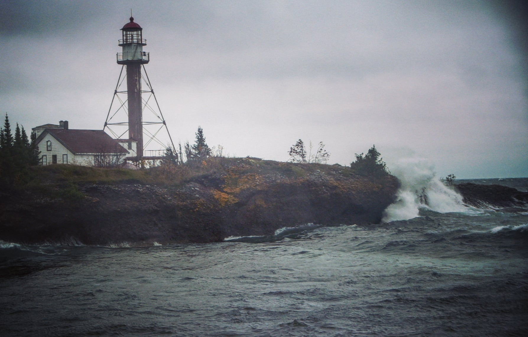During October 2020, I had the chance to count migrating waterbirds from the vantage of Manitou Island for a Copper Country Audubon migration survey. Manitou is roughly 1,000 acres, uninhabited, and in Lake Superior a few miles east of the Keweenaw Peninsula's tip. The weather there was elemental; mercurial...
